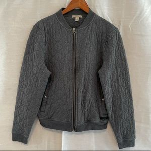 Burberry Brit Diamond Quilted Bomber Style Jacket